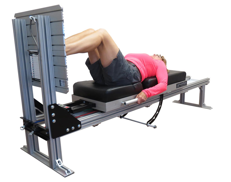 Low Back Extension Machine PowerPress - Leg Press...