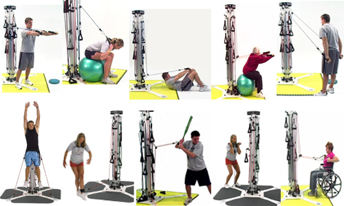 Exercises you can perform on a PowerVertex | Powering Athletics