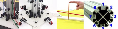 Heavy Duty Construction with T-Slot Technology | Powering Athletics