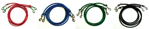 Resistance Cords come in Standard Duty, Medium Duty, Intermediate Duty, and Heavy Duty