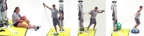 Stand, Sit, or Squat while exercising with a PowerVertex | Powering Athletics