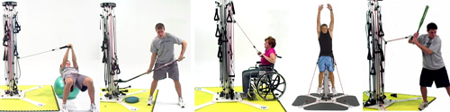 PowerVertex exercises are sport specific and span rehab and therapy use!