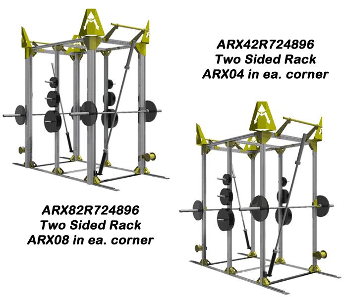 2 Sided Activity Racks | Powering Athletics