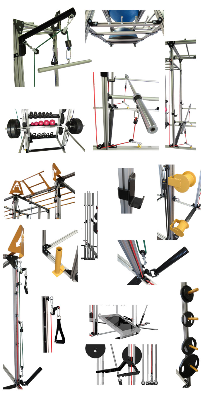 Activity Rack Accessoriest Collage J2